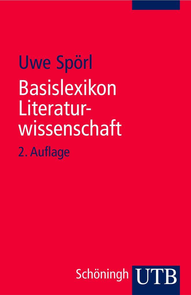 Basislexikon Literaturwissenschaft als Buch