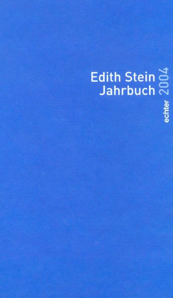 Edith Stein Jahrbuch 2004 als Buch