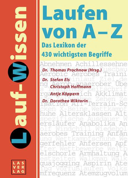 Lauf-Lexikon. Laufen von A - Z als Buch