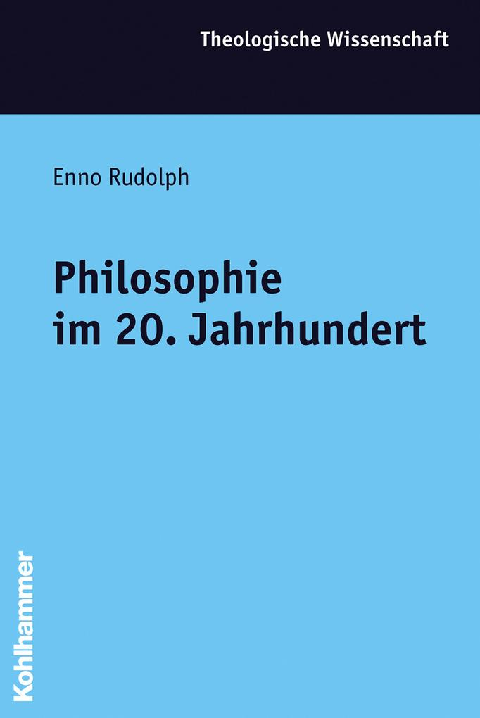 Philosophie im 20. Jahrhundert als Buch