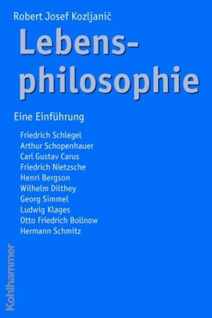 Lebensphilosophie als Buch