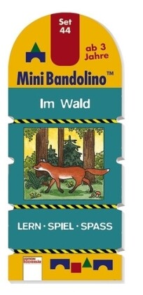 Arena Verlag - Mini Bandolino - Set 44: Im Wald als Buch