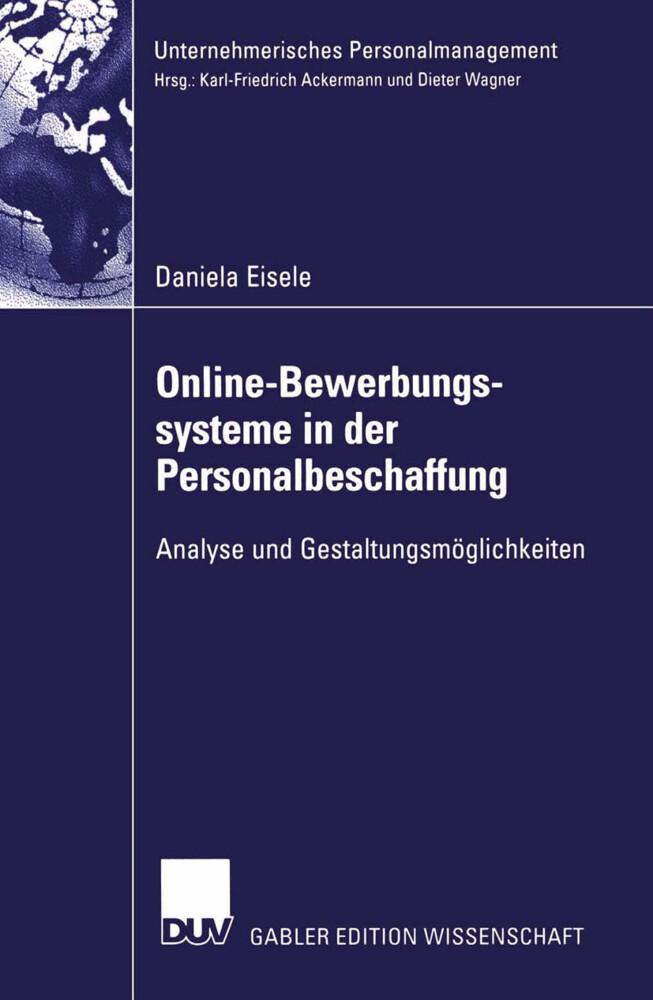 Online-Bewerbungssysteme in der Personalbeschaffung als Buch