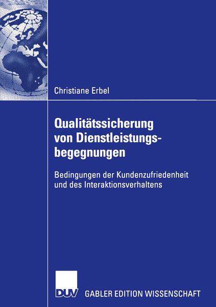 Qualitätssicherung von Dienstleistungsbegegnungen als Buch