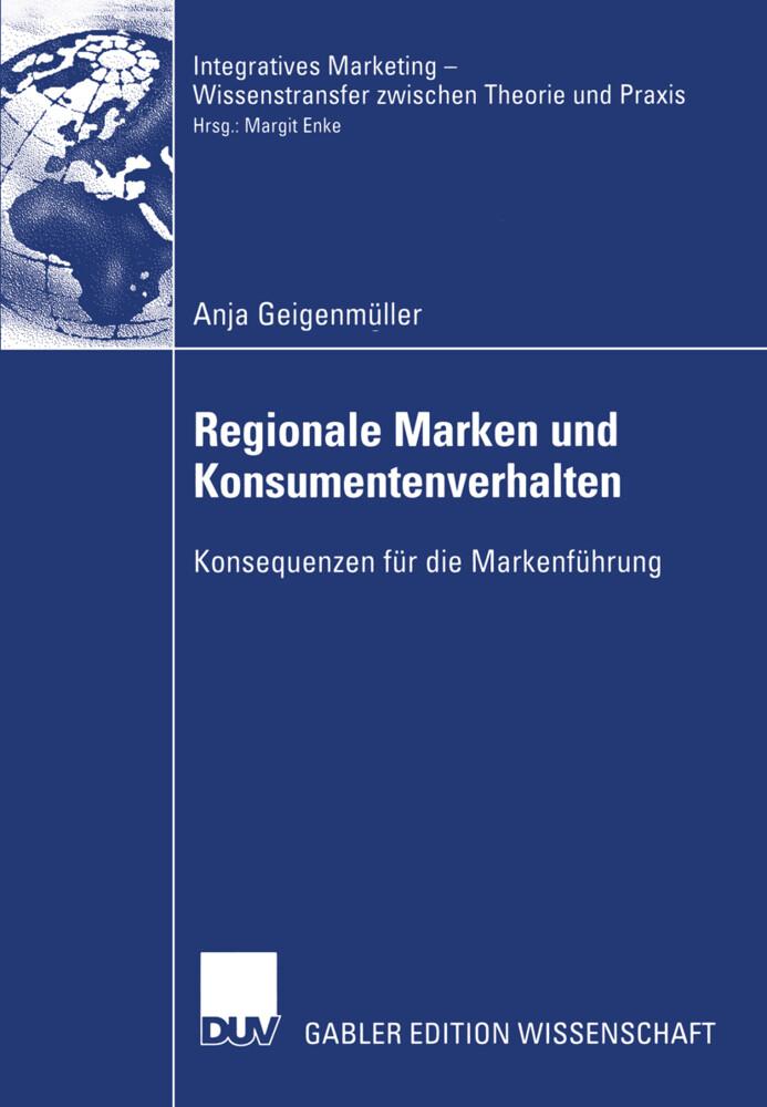 Regionale Marken und Konsumentenverhalten als Buch