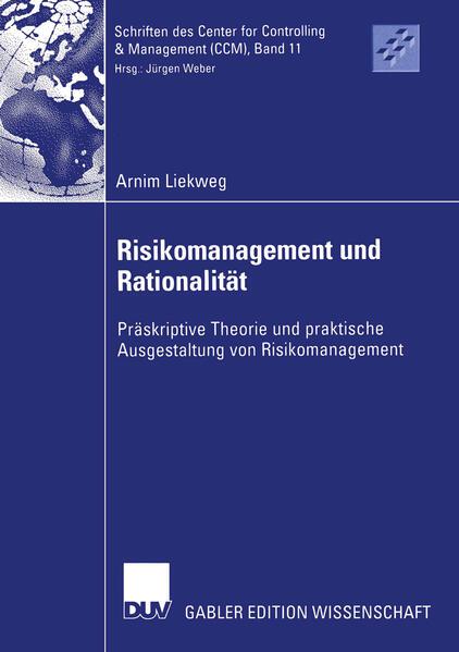 Risikomanagement und Rationalität als Buch