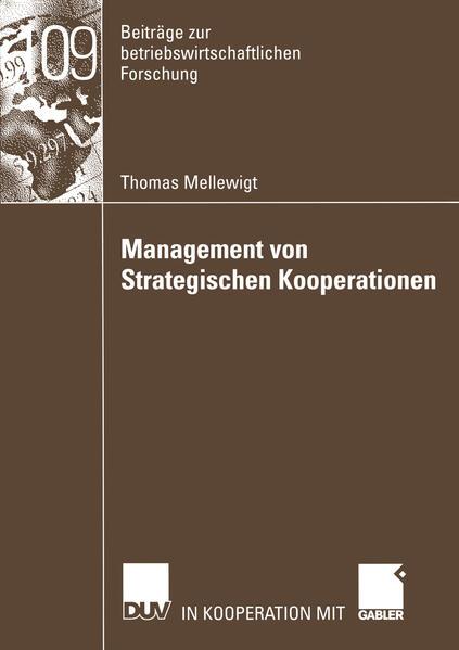 Management von Strategischen Kooperationen als Buch