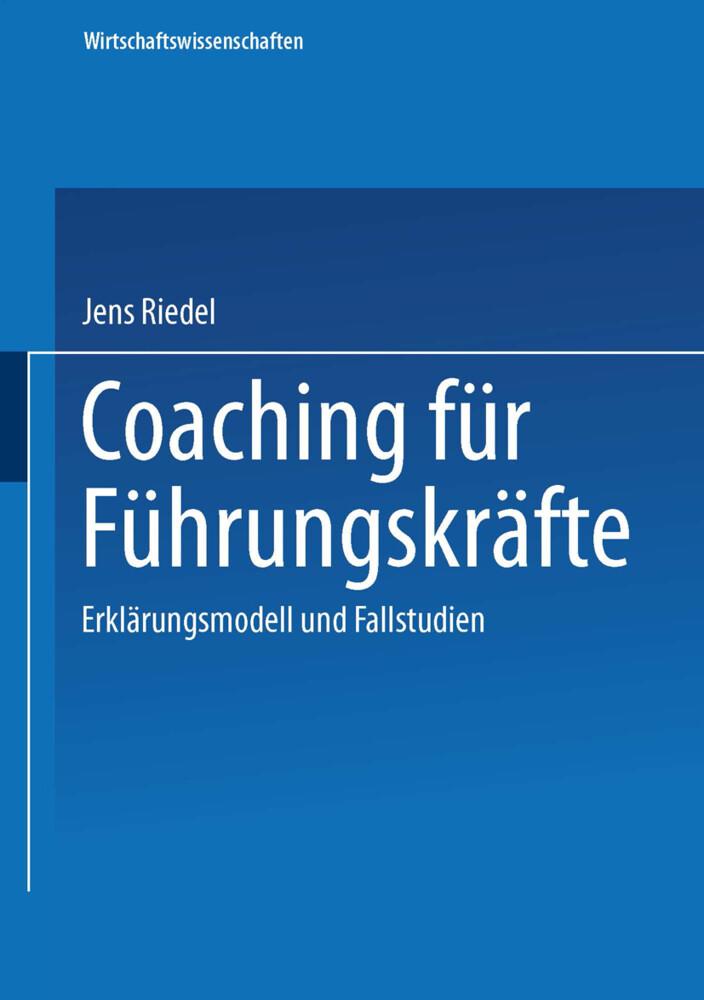 Coaching für Führungskräfte als Buch
