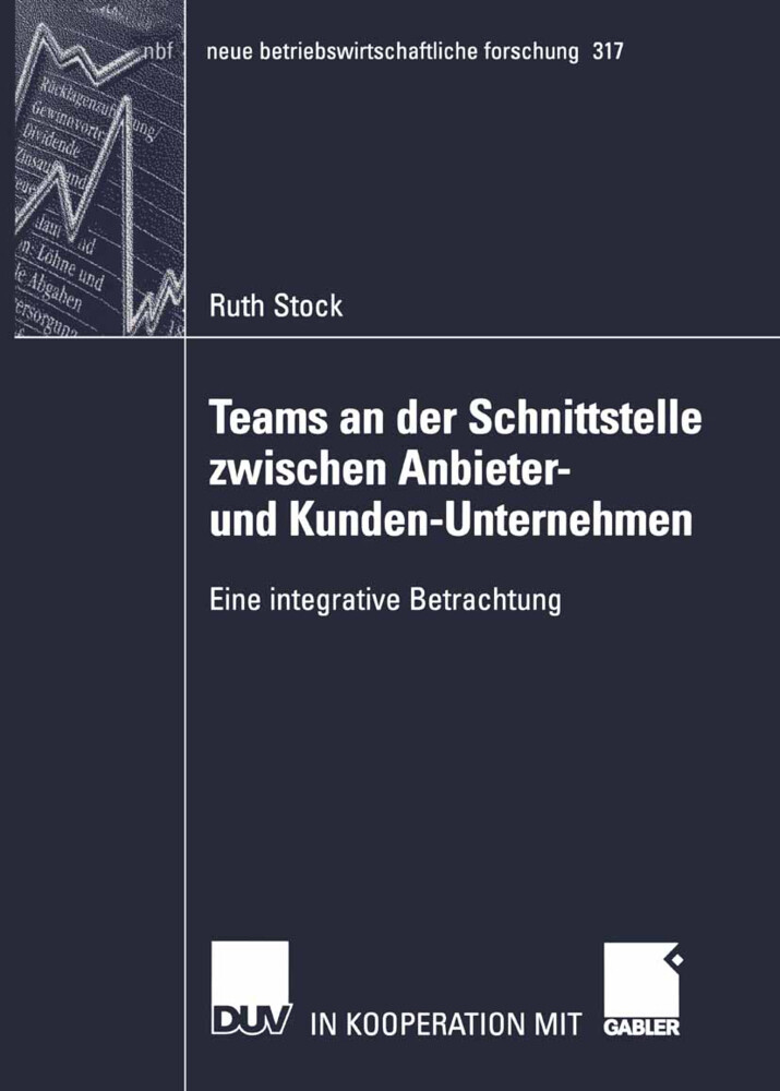Teams an der Schnittstelle zwischen Anbieter- und Kunden-Unternehmen als Buch