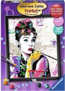 Ravensburger 284382 Malen nach Zahlen Audrey Hepburn