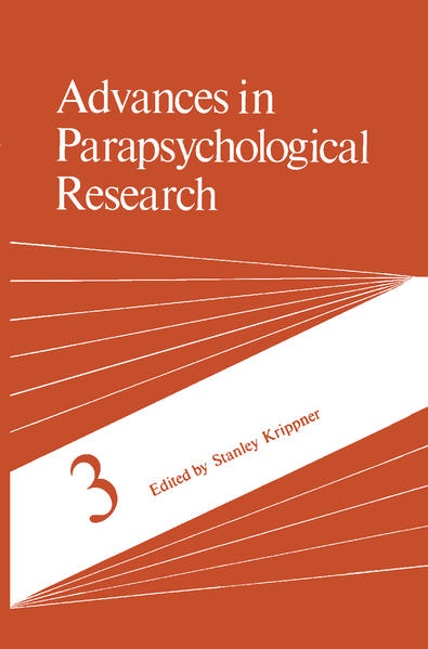 Advances in Parapsychological Research als Buch