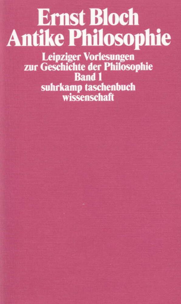Leipziger Vorlesungen zur Geschichte der Philosophie 1/4 als Taschenbuch