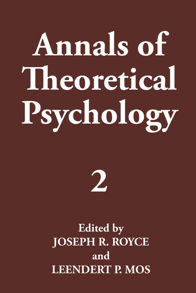 Annals of Theoretical Psychology als Buch