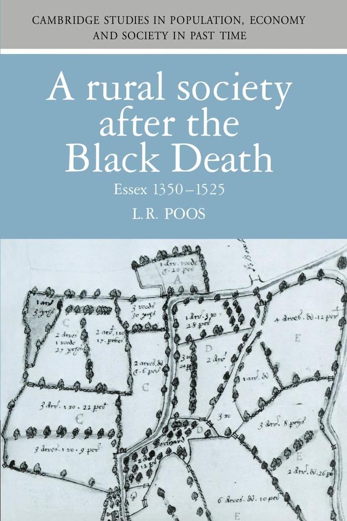 A Rural Society after the Black Death als Buch