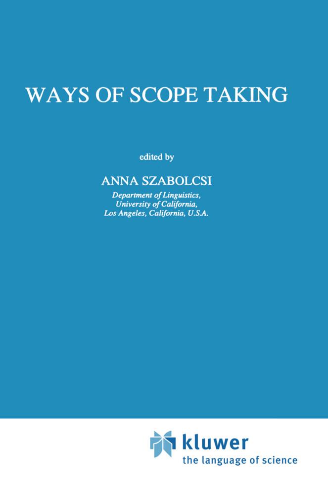 Ways of Scope Taking als Buch