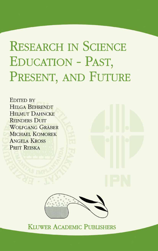 Research in Science Education - Past, Present, and Future als Buch