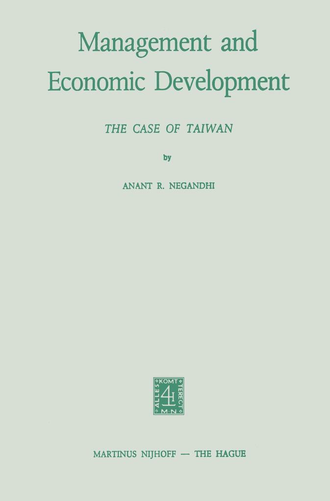 Management and Economic Development als Buch