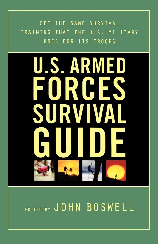 U.S. Armed Forces Survival Guide als Taschenbuch