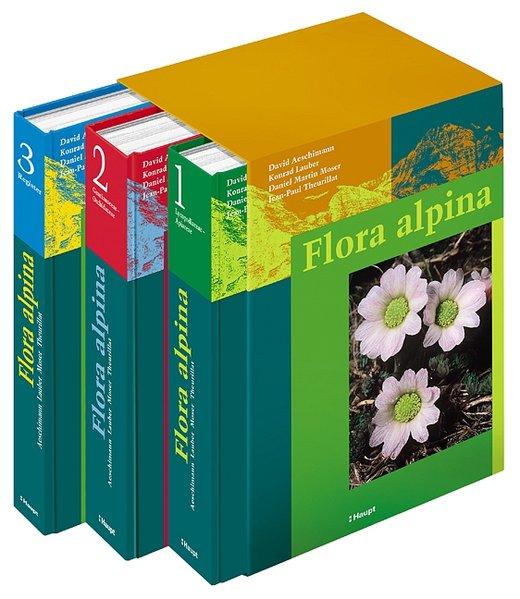Flora alpina als Buch