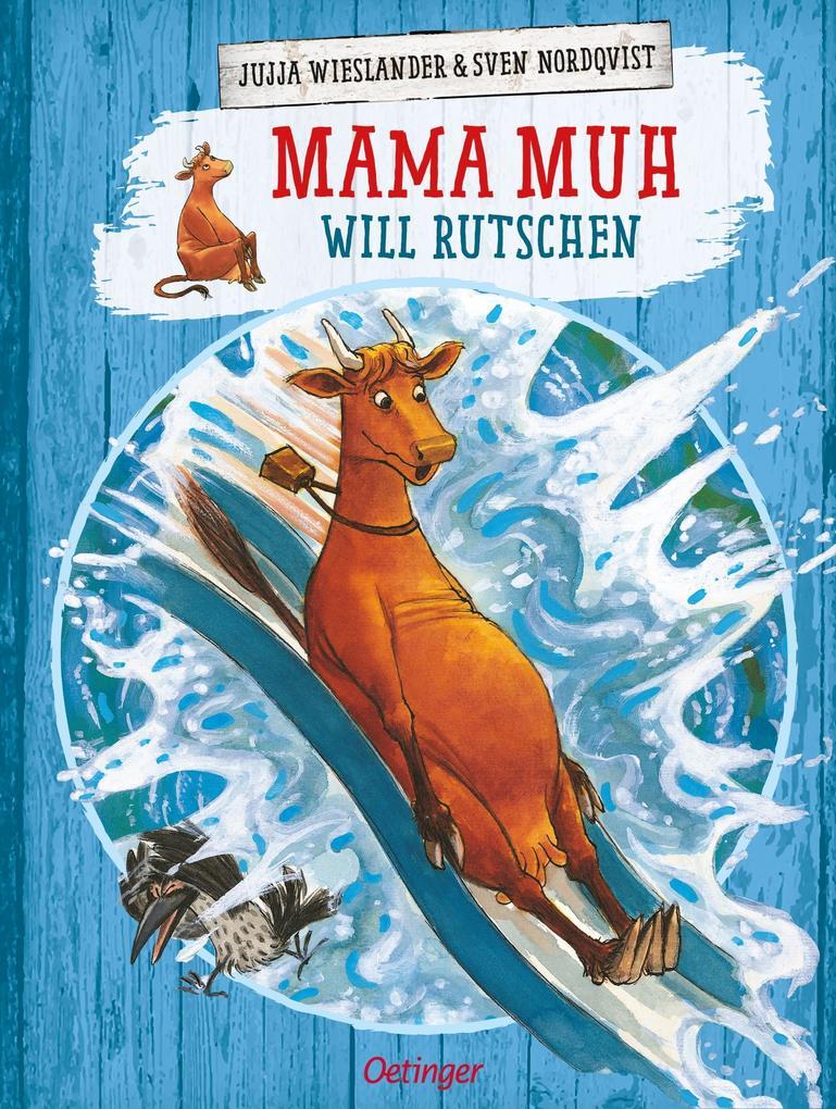 Mama Muh will rutschen als Buch