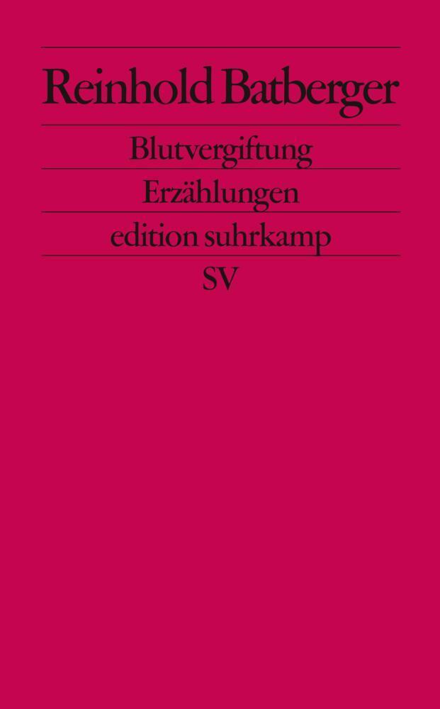 Blutvergiftung als Taschenbuch