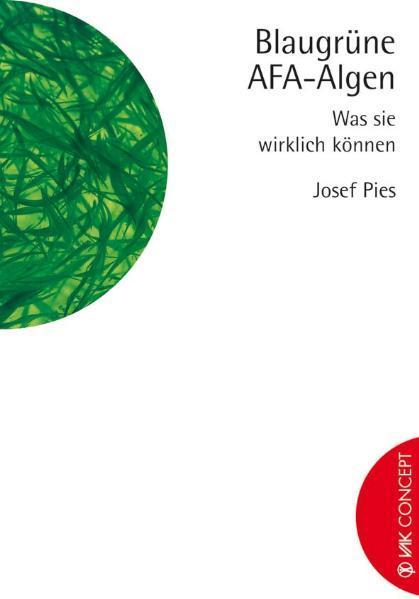 Blaugrüne AFA-Algen als Buch