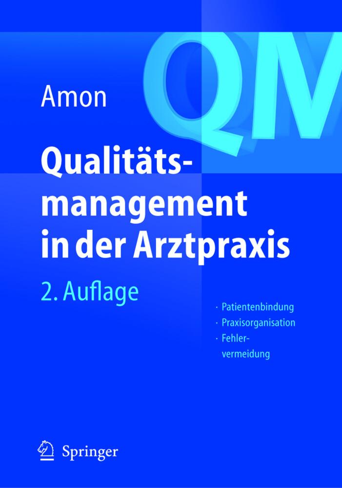 Qualitätsmanagement in der Arztpraxis als Buch