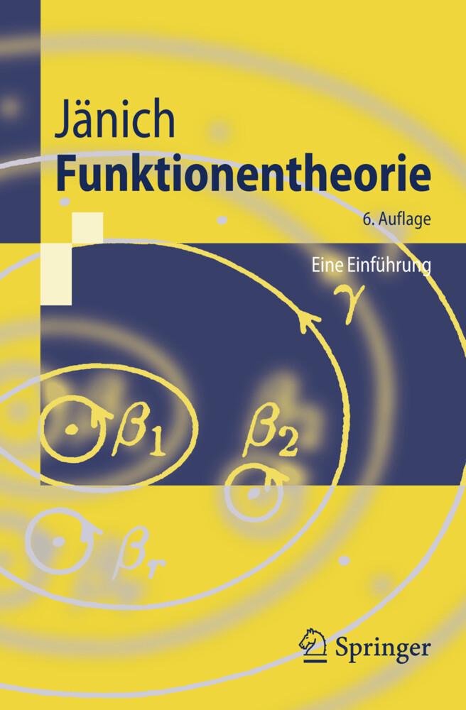 Funktionentheorie als Buch