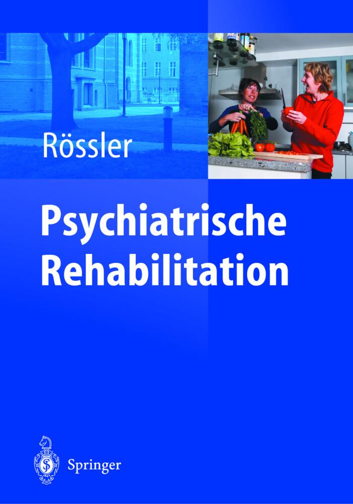 Psychiatrische Rehabilitation als Buch