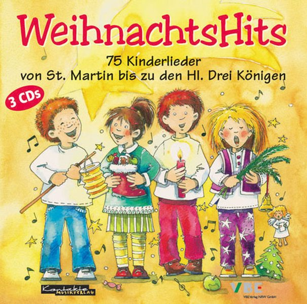 Weihnachts-Hits. 3 CDs als Hörbuch CD