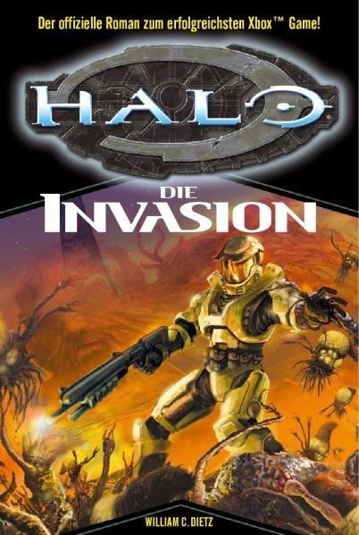 HALO 02. Die Invasion als Buch