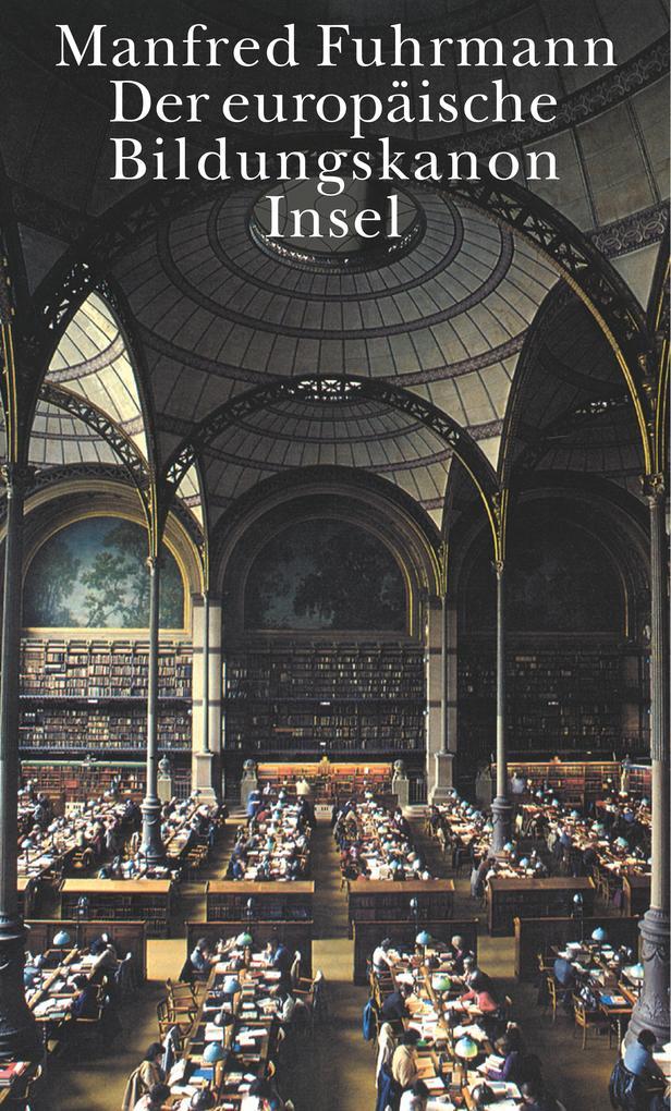 Der europäische Bildungskanon als Buch