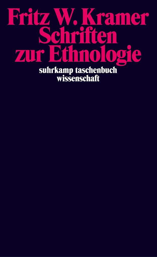 Schriften zur Ethnologie als Taschenbuch