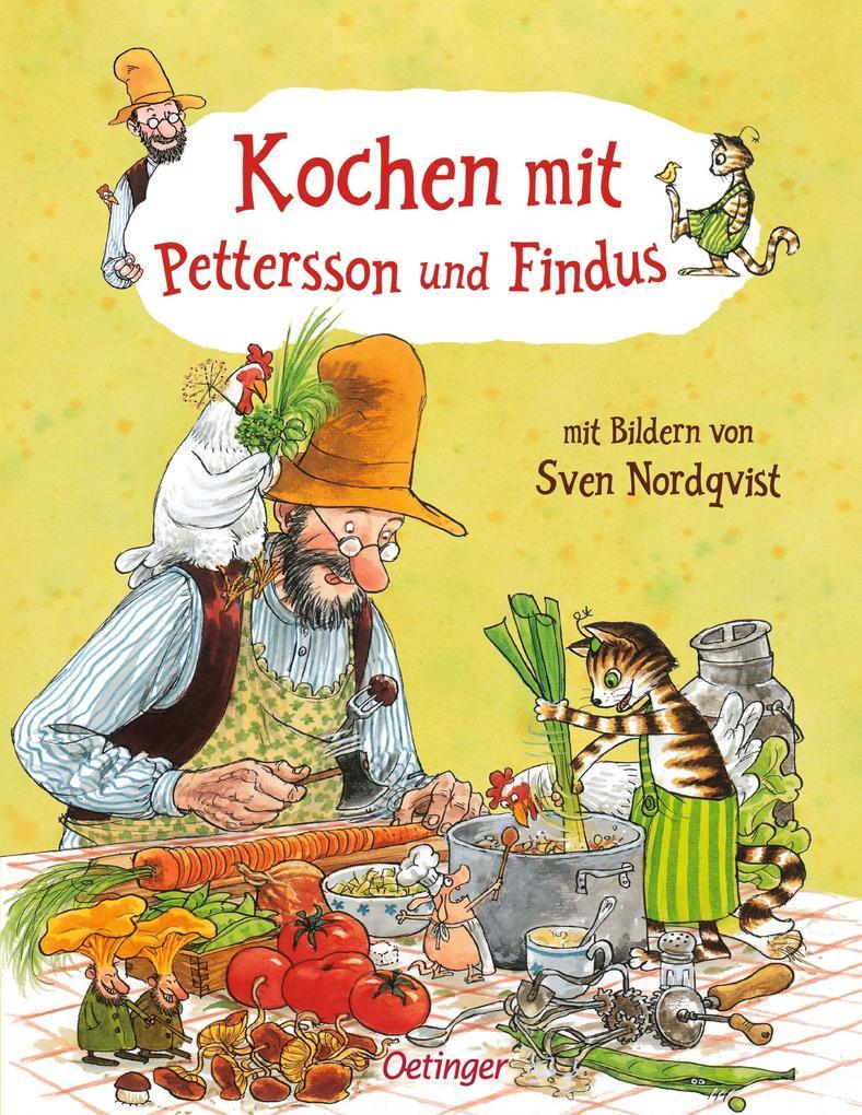 Kochen mit Pettersson und Findus als Buch