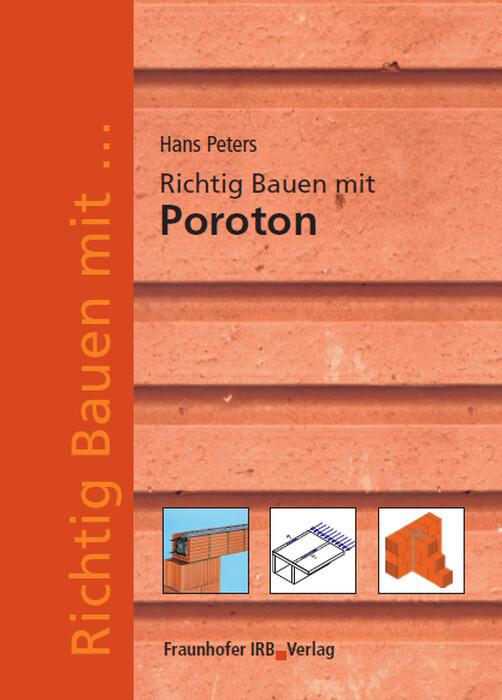 Richtig Bauen mit Poroton als Buch