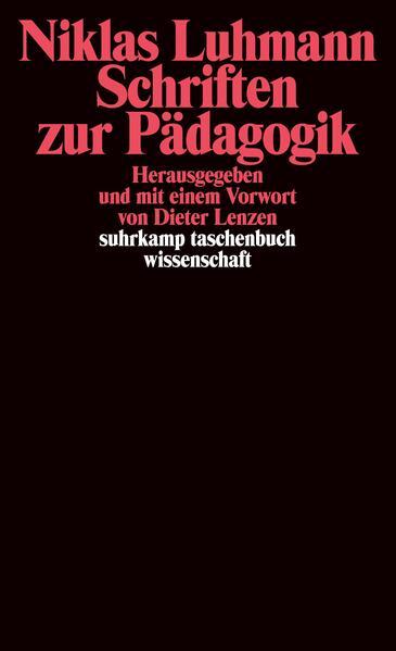 Schriften zur Pädagogik als Taschenbuch