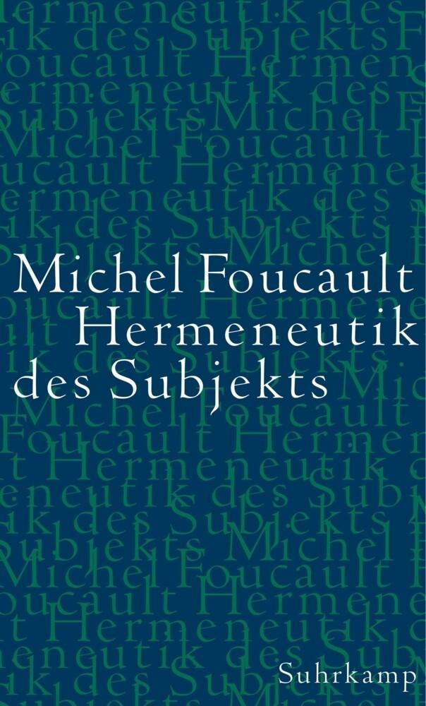 Hermeneutik des Subjekts als Buch