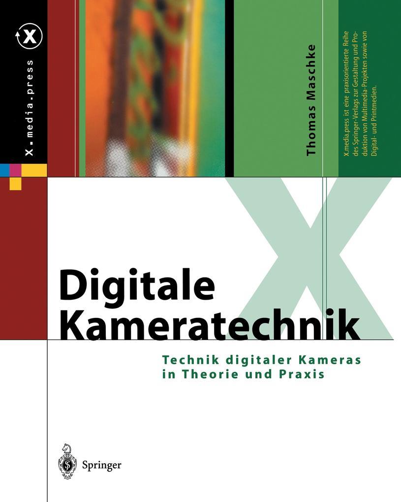 Digitale Kameratechnik als Buch