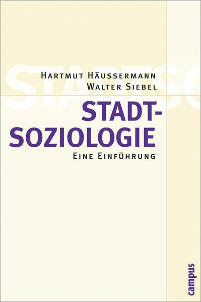 Stadtsoziologie als Buch