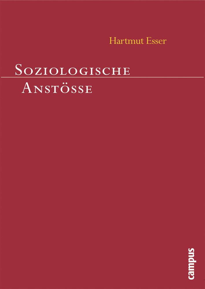 Soziologische Anstöße als Buch (kartoniert)