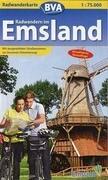 Radwandern im Emsland 1 : 75 000. Radwanderkarte