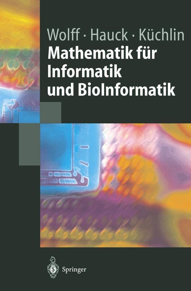 Mathematik für Informatik und Bioinformatik als...