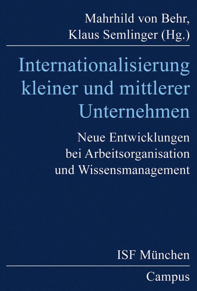 Internationalisierung kleiner und mittlerer Unternehmen als Buch