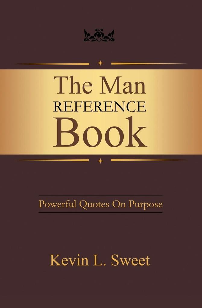 The Man Reference Book als Taschenbuch von Kevi...