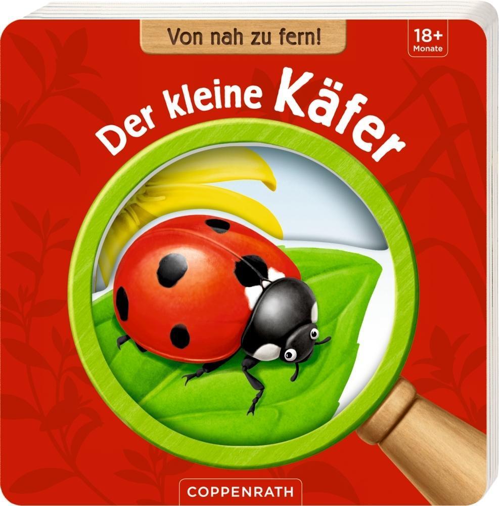 Von nah zu fern: Der kleine Käfer als Buch von