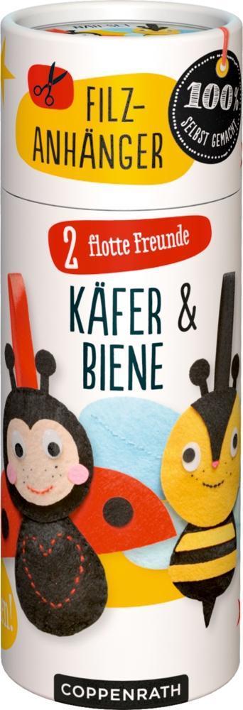 Coppenrath Verlag - Näh-Set: Filzanhänger 2 flo...
