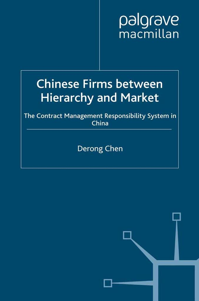 Chinese Firms Between Hierarchy and Market als ...
