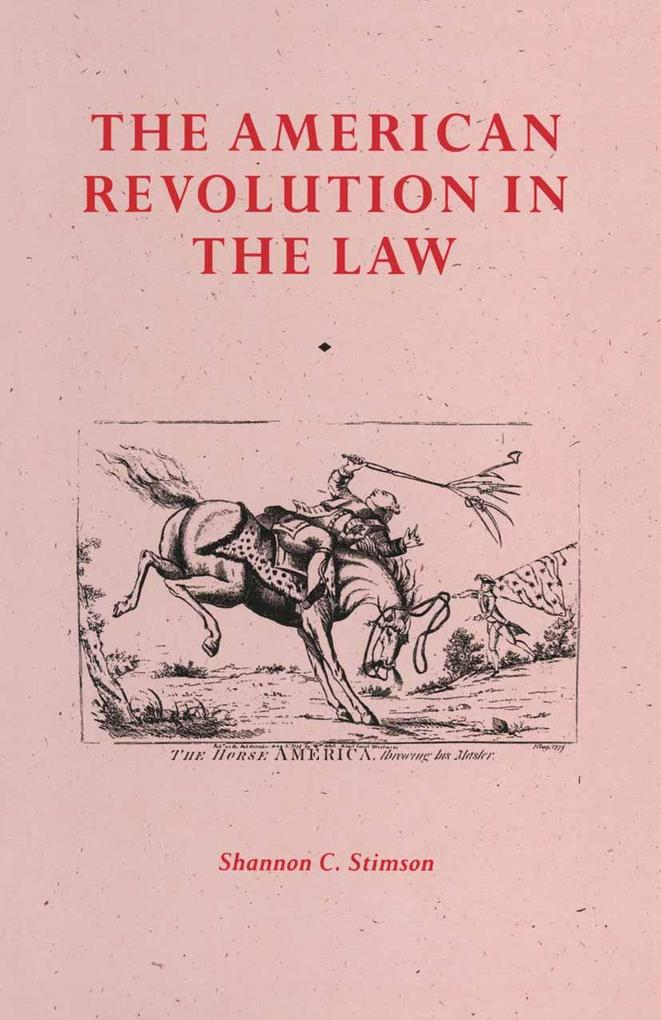 American Revolution In The Law als eBook Downlo...