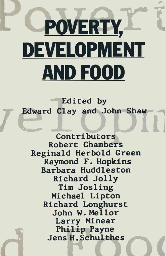 Poverty, Development and Food als eBook Downloa...