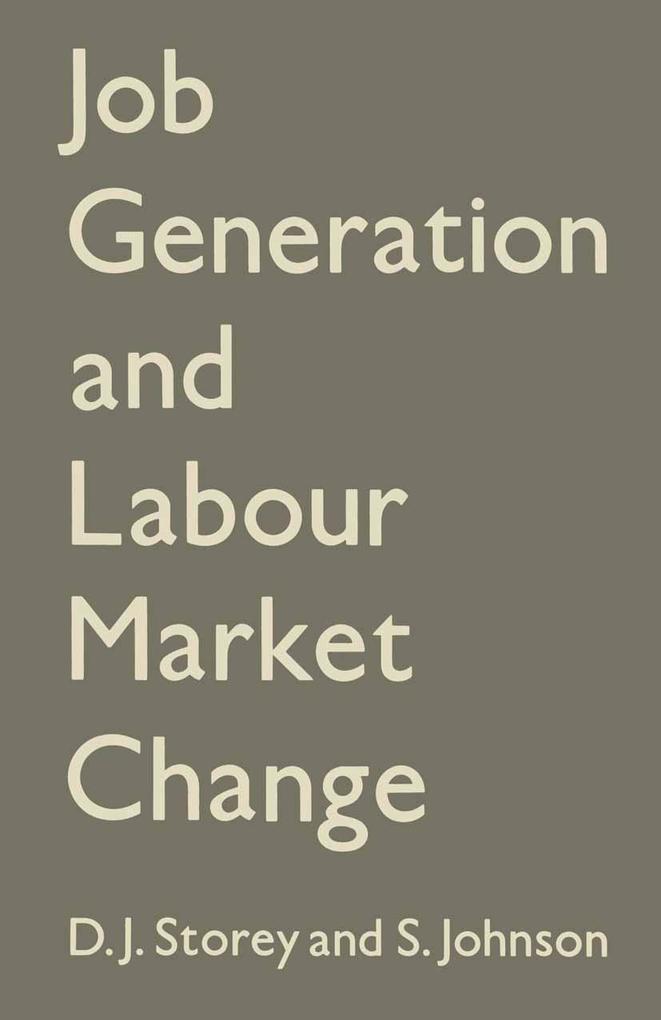 Job Generation and Labour Market Change als eBo...